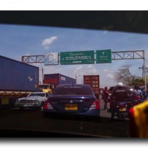 ベネズエラからコロンビアへ陸路で国境越え。