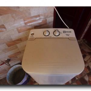 洗濯機デビュー記念日。