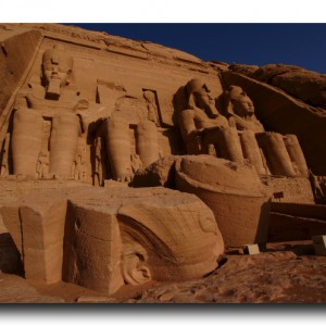 世界遺産の起源。アブシンベル神殿。