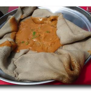 エチオピアではこんなものを食べていました。
