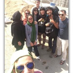 ラマダン明け当日のイランにヒッチハイクで突入!