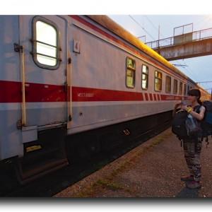 ジョージアの寝台列車で不眠症 × 念願のイランビザをゲット!