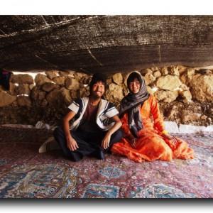 イランの遊牧民にごちそうを頂きました。そのお味は?