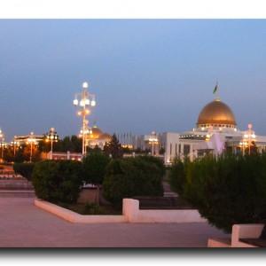 まるでスターウォーズの世界!!トルクメニスタンの首都アシガバート。