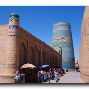 ウズベキスタンで一番良い街に一番最初に来てしまいました。
