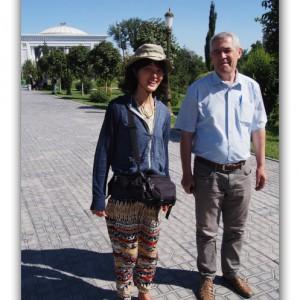 ウズベキスタンの豪邸にお宅訪問!奥さんの手作り家庭料理に舌鼓!
